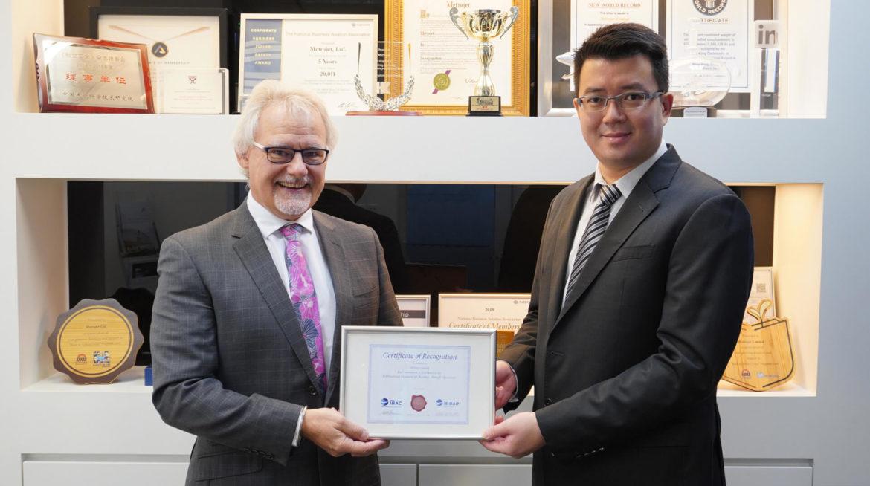 Metrojet получила признание IBAC за 10-летнюю деятельность по защите международных стандартов безопасности
