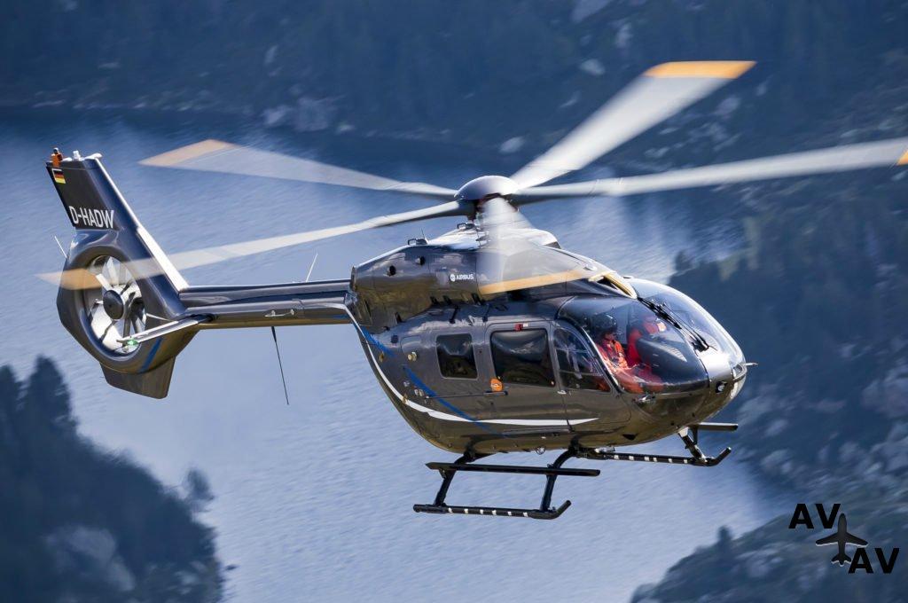 Пятилопастный H145 получил сертификат FAA